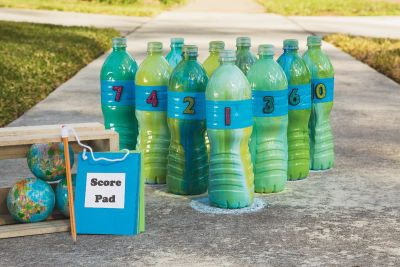 Recycled Water Bottle Bowling Eco-Chic trend   Recycle ...