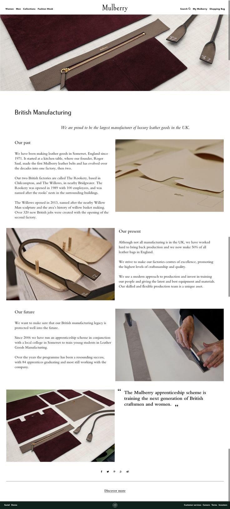 mulberry - about us page 2016