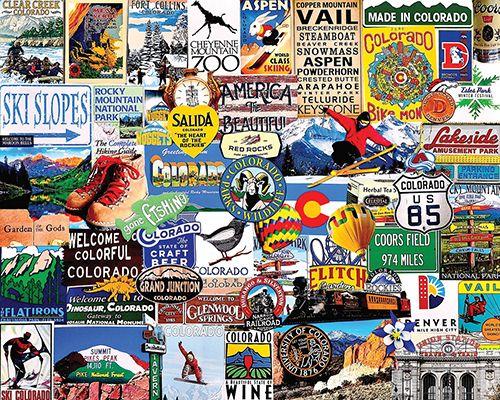 I Love Colorado Puzzle-White Mountain Puzzles