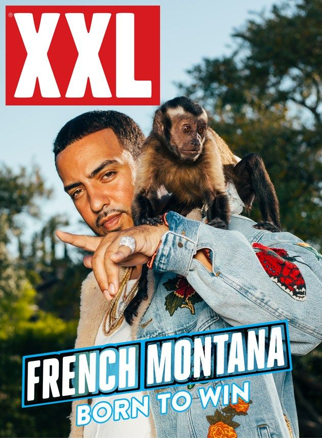 Flying high in his new crib, French Montana covers the first everdigital cover for XXL Magazine in Gucci hand-stitched denim Jacket with…