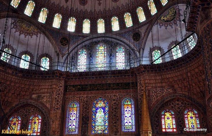 Kék Mecset belső