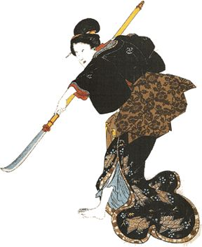 Onna bugeisha Female samurai Warrior from Japan http://www.kusuyama.jp/the-powerful-onna-bugeisha-female-samurai-warrior/