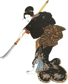 Onna bugeisha Female samurai Warrior from Japan http://www.kusuyama.jp/the-powerful-onna-bugeisha-female-samurai-warrior/
