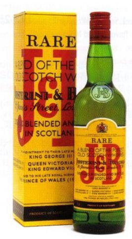 Whisky Blended J&B Teor alcoólico: 40% Volume: 1.000 ml