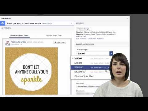 60 Second Tip - How to Boost Your Post http://www.unleashedmultimedia.com.au