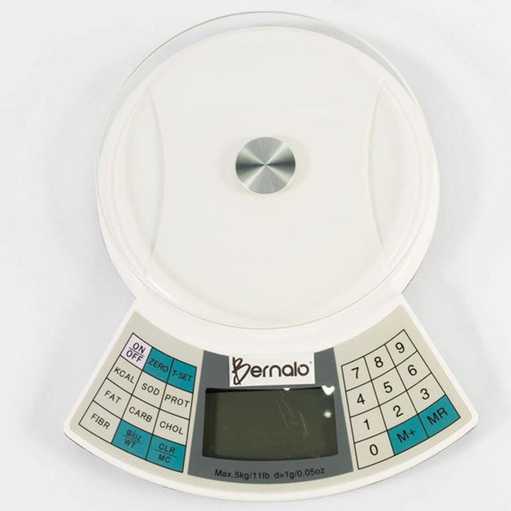 $99.900 Balanza Digital de Cocina, Mide 7 Valores Nutricionales y tiene Capacidad de 5Kg.