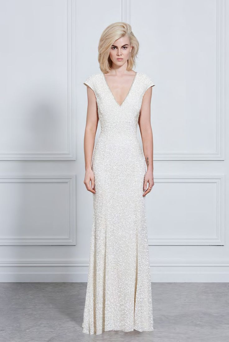 Rachel Gilbert beaded dress