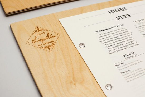 Award winning restaurant menu designs and themes