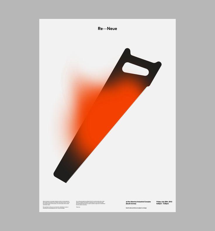 D. Kim / AIC: Re-Neue #graphic #design #poster