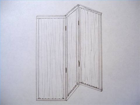 How to Build an Indoor Privacy Screen
