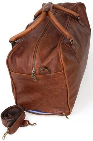 Classic Overnight Leather Duffel Bag Regular price R 2,650.00