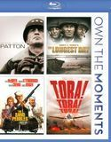 Patton/The Longest Day/The Sand Pebbles/Tora! Tora! Tora! [4 Discs] [Blu-ray]