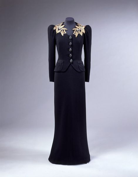 Evening ensemble by Elsa Schiaparell, 1938 - 1939 | Victoria and Albert Museum #fashion #vintage