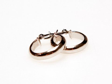 Small Hoops Earrings: These delicate classic style hoops are essential for any collection. $25.00