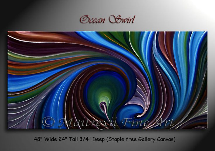 ocean color abstract paintings | ... /abstract-paintings/abstract-paintings-ocean-swirl-abstract-art.jpg