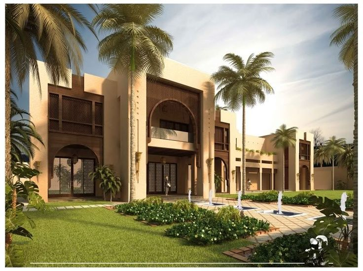 132 best islamic villa images on pinterest mansions for Moroccan house plans