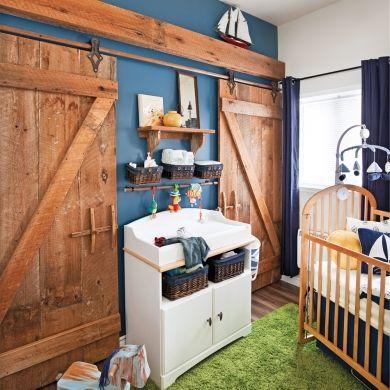 Chambre de bébé champêtre - Décors d'enfants - Inspirations - Décoration et rénovation - Pratico Pratique