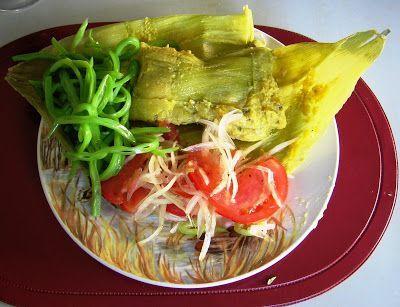 Eating Chilean: Humitas : Chilean Tamales