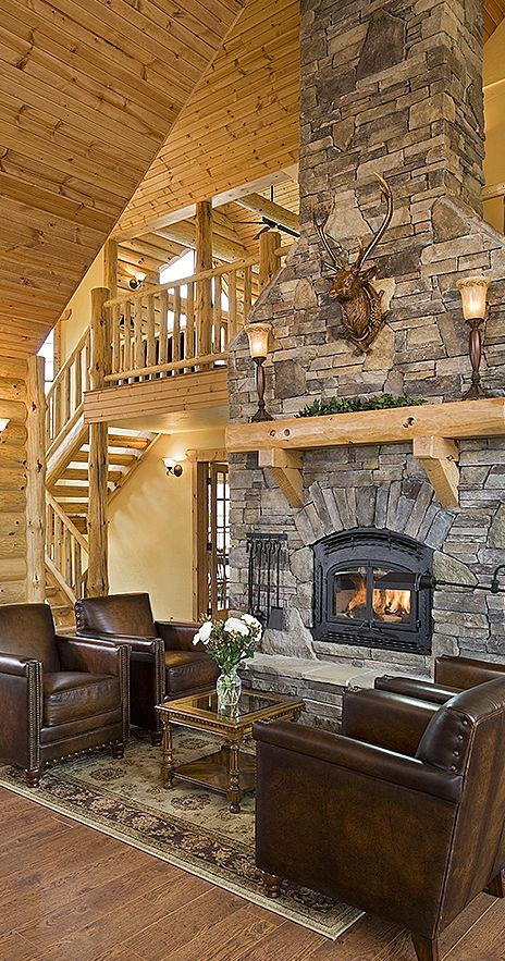 134 Best Rustic Great Rooms Images On Pinterest