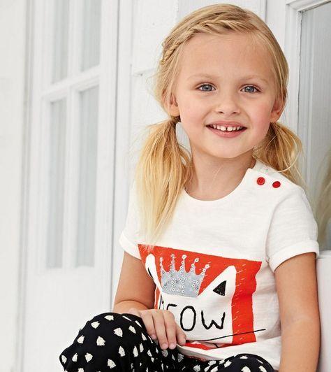 25 einfache Frisuren für kleine Mädchen, die 2 Minuten oder weniger brauchen – Nadine Kolenda