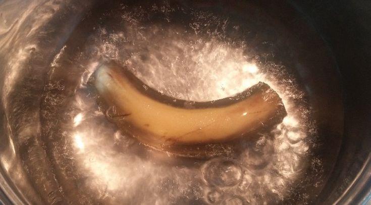 Banana tea?