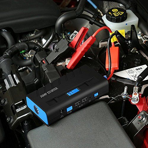 Jump Starter 13600mAh 500A, Topop Arrancador de Emergencia para Coche, Multi-Función y Portátil, Linterna LED, Dual USB Carga, Cargador de Batería para Smartphone y Tablet - http://cargadorespara.com/comprar/bateria-de-coche/jump-starter-13600mah-500a-topop-arrancador-de-emergencia-para-coche-multi-funcion-y-portatil-linterna-led-dual-usb-carga-cargador-de-bateria-para-smartphone-y-tablet/