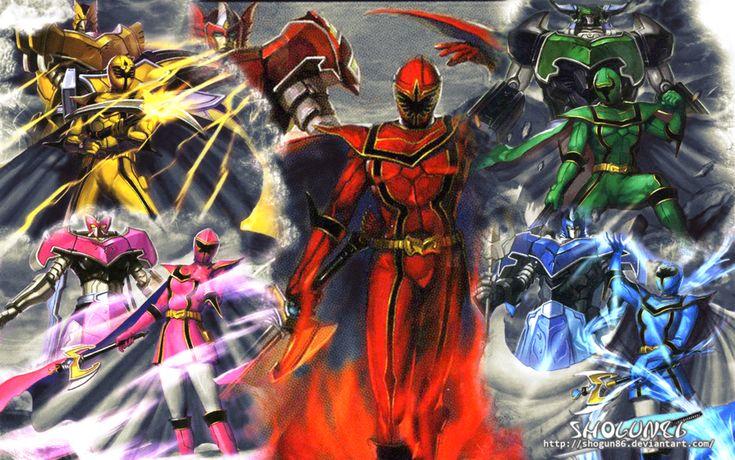 Power Rangers: Mystic Force Wallpapper by ShoguN86.deviantart.com