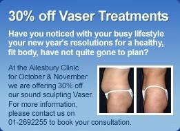 50% off Vaser Treatments