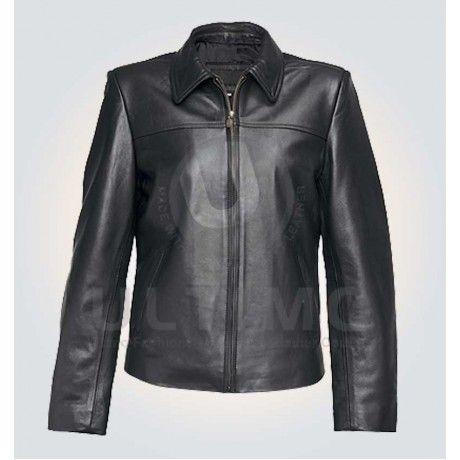 Black Women Stylish Leather Jacket
