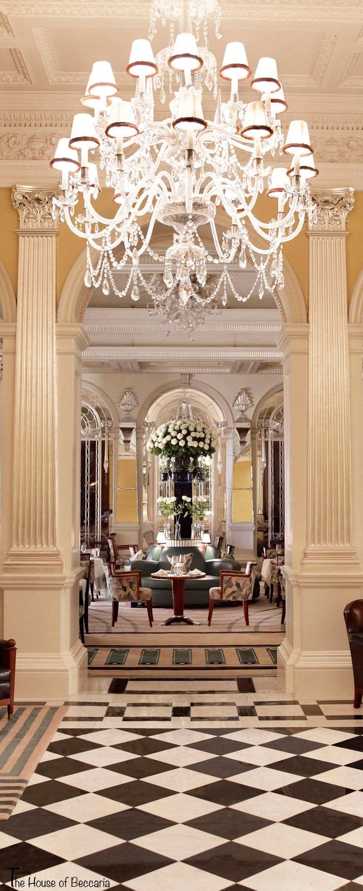 Claridges is a 5 star iconic art deco luxury hotel in london dating back