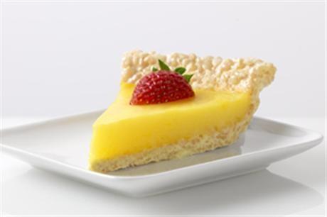 Marshmallow Crispy Lemon Pie by Jell-o  (Lemon Pie with Rice Crispy Treat Crust) = Yummy!