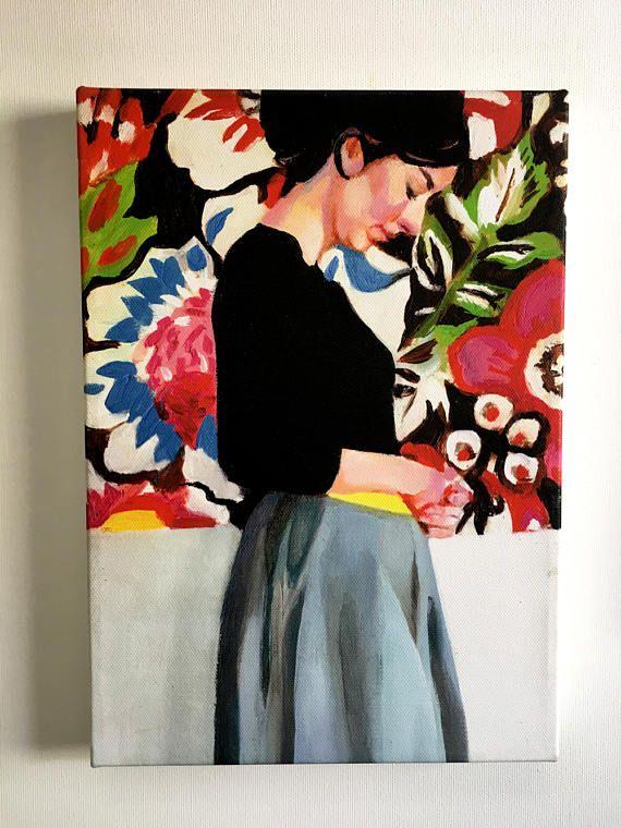 Rimma print on canvas  8.4x11.6 inch