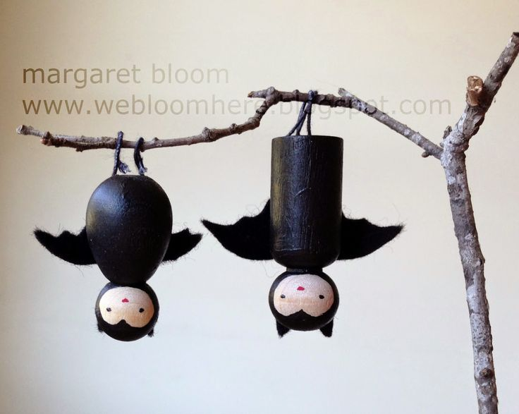 we bloom here: a little batty :: tutorial