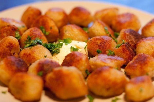 Постные картофельные клецки (кнедлики). Рецепт