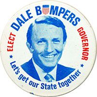 On This Day In 1970:  Dale Bumpers Emerges From Obscurity In Arkansas
