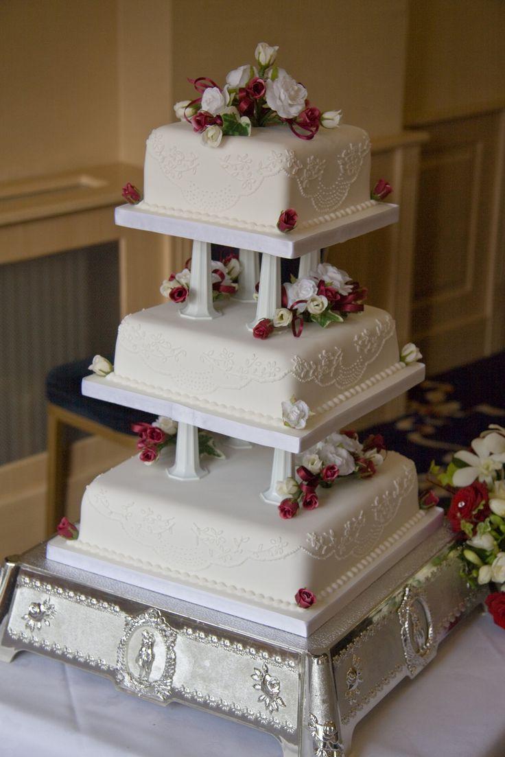квадратные торты на свадьбу картинки своё