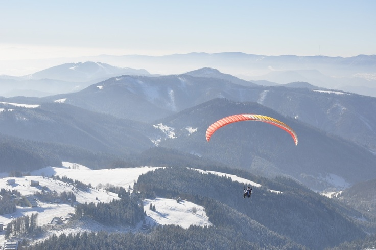 Paragliding, Slovakia Donovaly