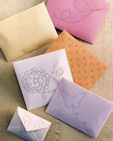 Envelope Sachets | Step-by-Step | DIY Craft How To's and Instructions| Martha