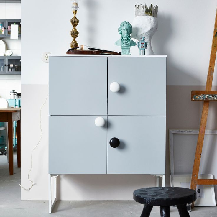 Check out how weu0027ve repurposed kitchen cabinets