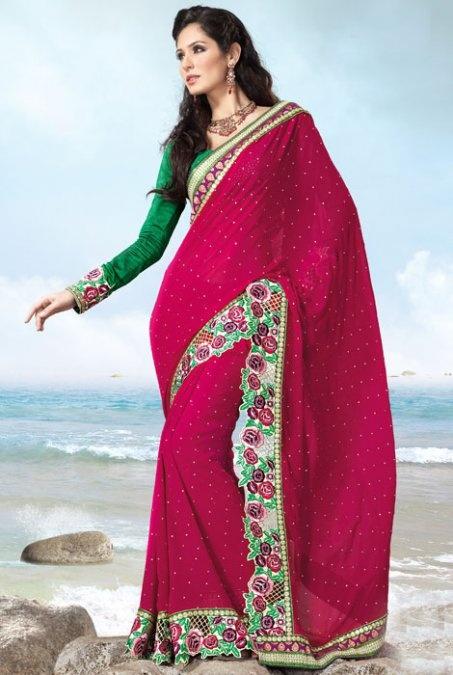 Gorgeous Indian sari