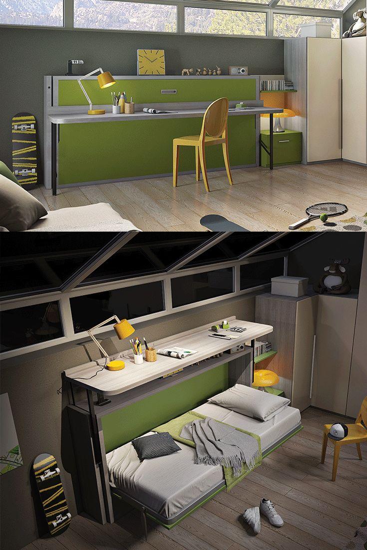 Single Bed And Desk Part - 38: Slumberdesk Junior - Remarkable Desk And Single Bed Combined
