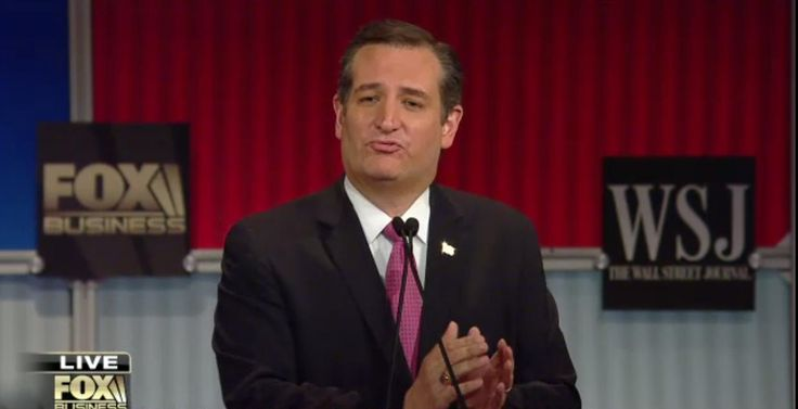 Ted Cruz, Master Debater - Reframing, Bending Narratives