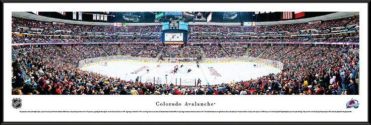 Colorado Avalanche Panoramic - Pepsi Center Picture