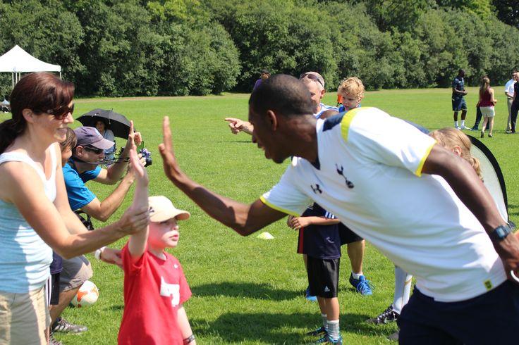 2014 NTSC Special Olympics Tottenham and TFC Practice