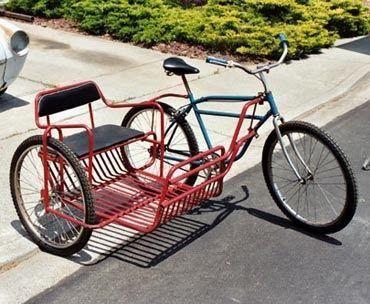 121 best images about bicycle trailer side car on. Black Bedroom Furniture Sets. Home Design Ideas