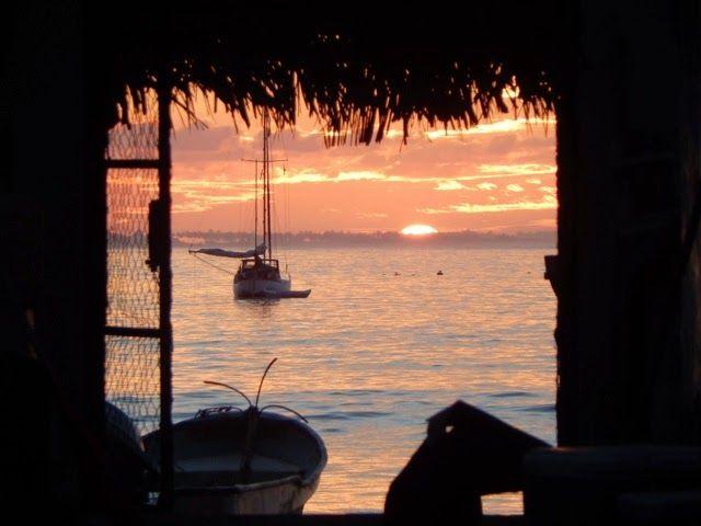 Mexico's sleepy little beach town of Tenacatita Bay.