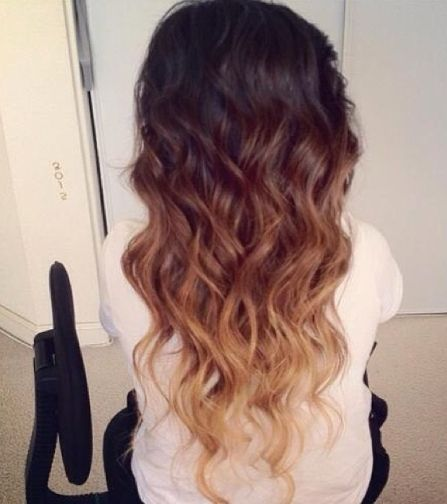 Ombré 3 tone hair