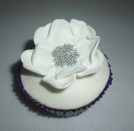 Cupcake para bodas.