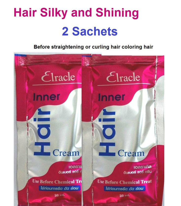 Elracle Inner Hair CreamTreatments and Condition after chemotherapy for sliky #ElracleInna