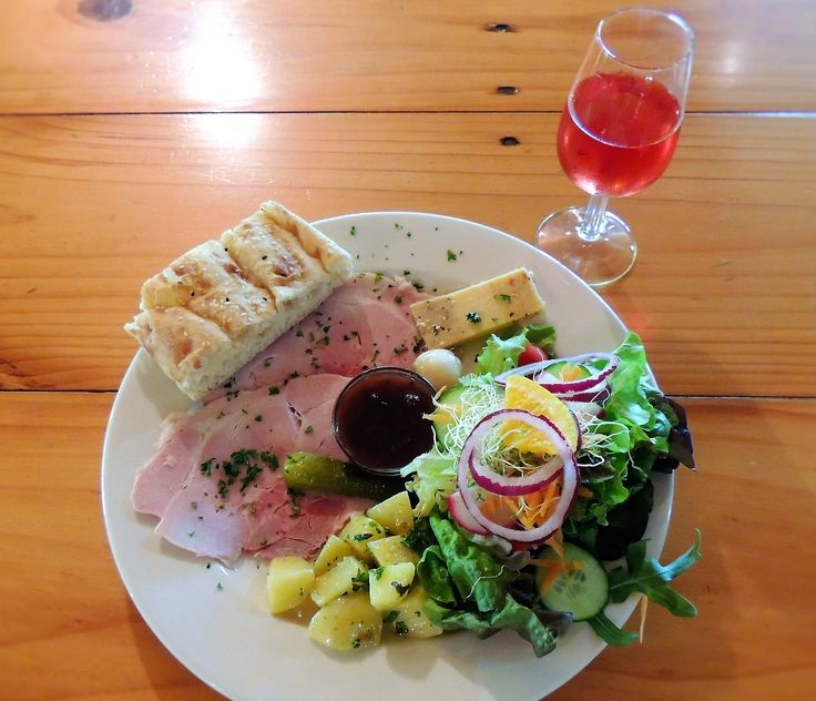 Ploughman's Lunch at Tilba Valley Wines in Central Tilba